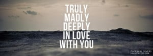 Musical Friday - Truly, Madly, Deeply