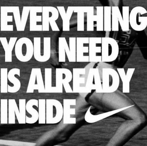 Nike quote Just do it