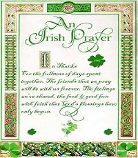 Irish Pics And Sayings Blessing
