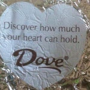 Dove chocolate quotes!