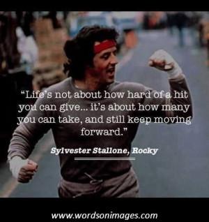 rocky v inspirational quotes