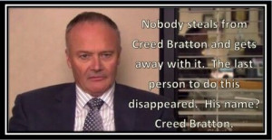 Creed Bratton- my favorite Creed moment