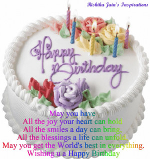 Happy Birthday Quotes , Happy Birthday Love Quotes , Happy Birthday ...
