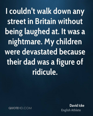 David Icke Dad Quotes