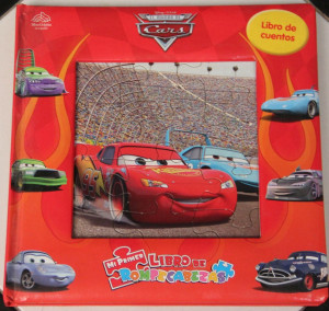 libro rompecabezas cars rayo mcqueen puzzle