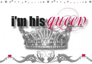 his queen ♡
