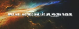 Proceed and Progress Quote Wallpaper