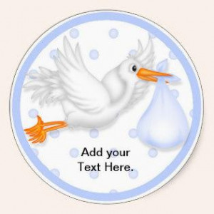 Baby Shower Cupcake Toppers Stickers « Cupcake Business Cards