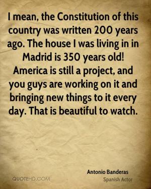 Antonio Banderas Quotes