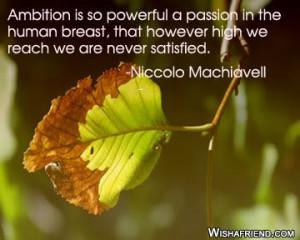 ambition quote graphics