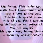 Simple Birthday Poems for Boyfriend