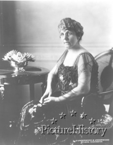 Florence Harding posing for her university picture!