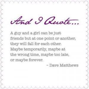 dave matthews falling for you