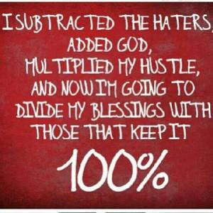 Keepin it 100%