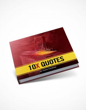 10X Quote's Book