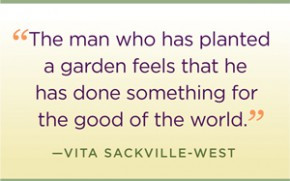 The quote garden quotations about.