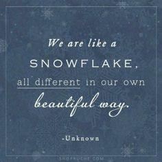 snowflake more mondays quotes beautiful winter wonderland snowflakes ...