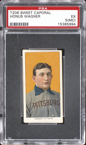 T206 Honus Wagner PSA-5 -- The Magnificent