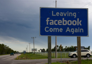 Bye, bye, Facebook. And I won't be coming back.