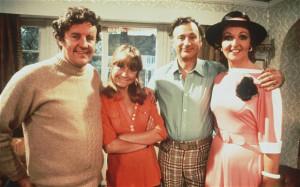 ... Barbara), Paul Eddington (Jerry) and Penelope Keith (Margo) Photo: BBC