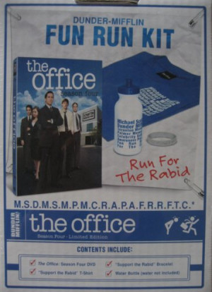 ... Shirt, Dunder-Mifflin Box and Supprt the Rabid Bracelet) Movie Poster