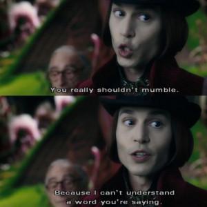 Willy Wonka Mumbler!