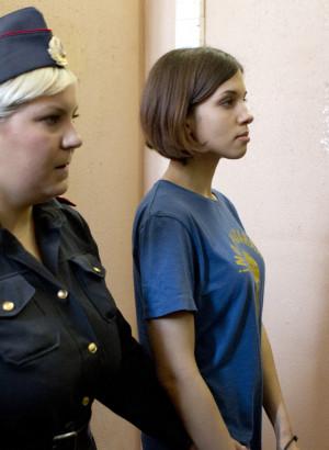 Nadezhda Tolokonnikova Prison Nadezhda Tolokonnikova
