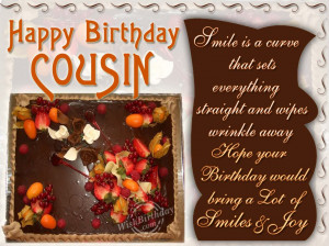 Birthday Quotes For Boy Cousin ~ Happy Birthday Quotes For Boy Cousin ...