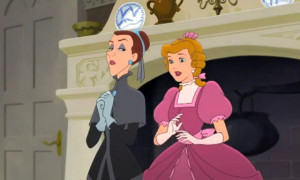 Cinderella II - Curtsy to royalty wave to nobility - snapshot picture