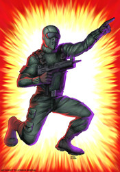 ... original packaging as shown on the B Cover of G.I. Joe Declassified