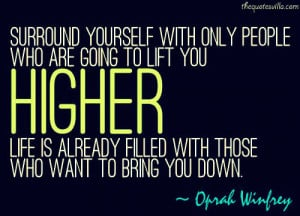 Surround Yourself With Good People