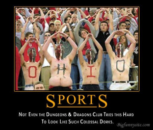 Funny Poster: Sports