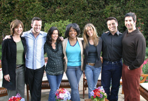 Oprah and the cast of Friends