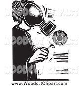 Clip Art Black And White Mask Man
