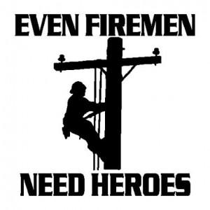 Lineman Decals Stickers Need heroes lineman decal