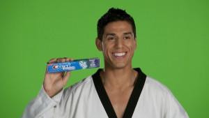 Ondina López, Taekwondo fighter Steven López and crest!
