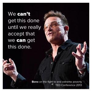 Bono #BonoVox #U2 #quote