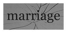 ... marriage ends with divorce - the whole family is affected. Forever