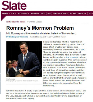 HotAir.com Promotes Anti-Mormon Bigotry Again