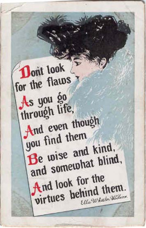 Prints and Postcards of Quotations of Ella WheelerWilcox.