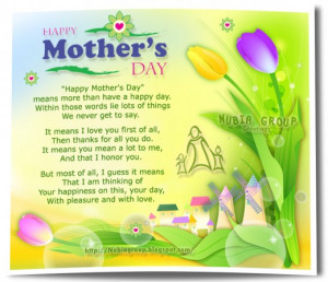 Free cards and sayings for Mothers Day