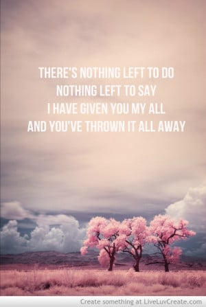 Breakup Cute Girls Inspirational Life Love Pretty Quote Quotes picture