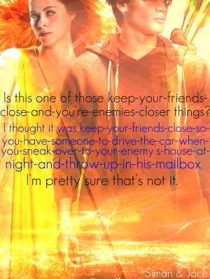 mortal instrument quotes The Mortal Instruments Quote