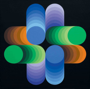 Victor Vasarely Untitled picture