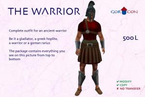 WARRIOR ANCIENT RUSTIC LEGIONAR GLADIATOR WARRIOR RARIUS 300