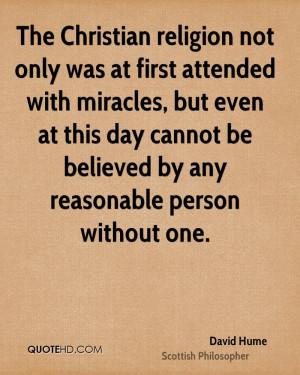 David Hume Religion Quotes