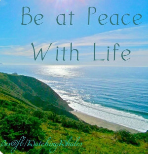 Peace on earth pictures and quotes | Be at peace with life