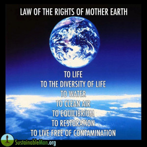Law Of The Rights Of Mother Earth