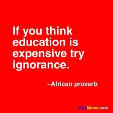 Ignorance is NOT bliss!