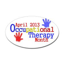 Occupational Therapy Month Bumper Stickers
